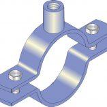 Nut Clip Cast Iron Pipe