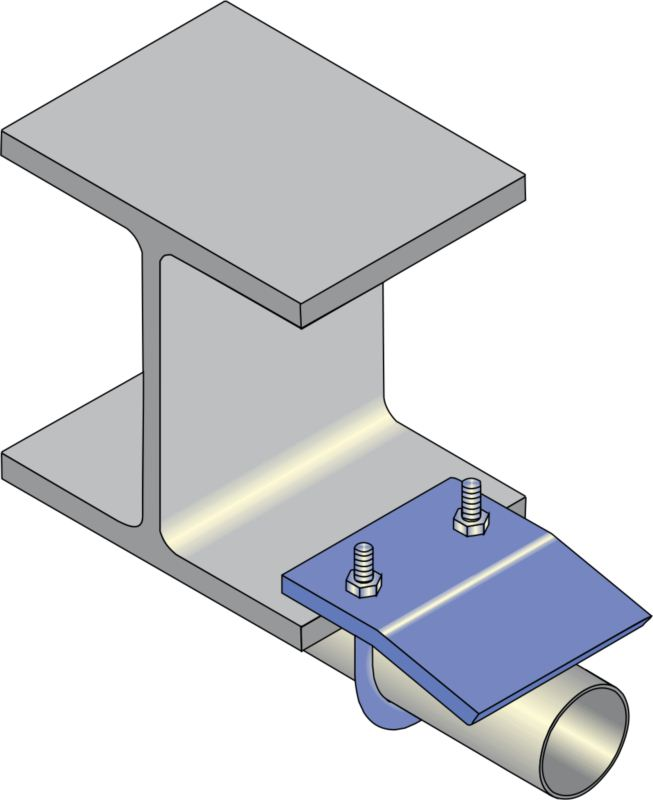 Pipe Beam Clips