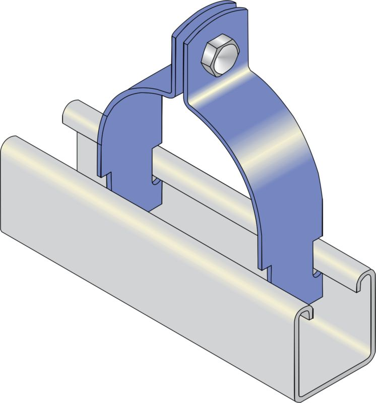Two Piece Channel Clip